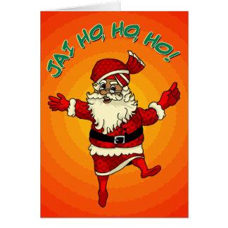Jai Ho, Ho, Ho! Card