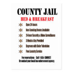 Jail B&B Postcard