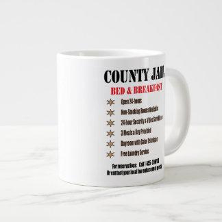 Jail Bed & Breakfast Mug