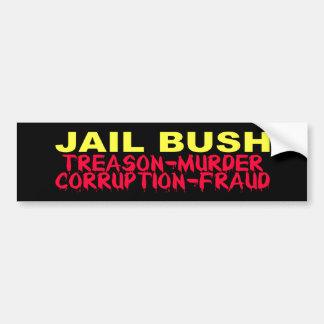 Jail Bush Bumper Sticker