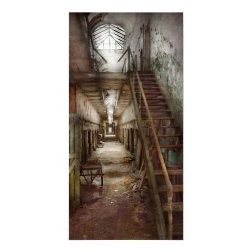 Jail - Down a lonely corridor Photo Cards