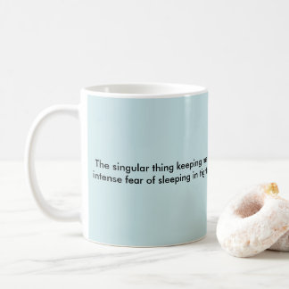 Jail is moral inspiration coffee mug