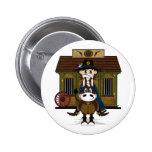 Jailhouse Cowboy on Horse Badge Pins