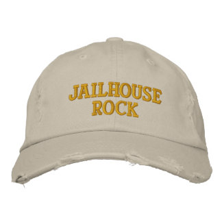 Jailhouse Rock Embroidered Hat