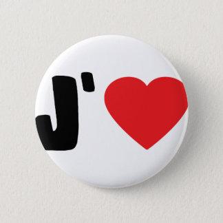 jaime 6 cm round badge