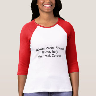 J'aime Montreal top for women