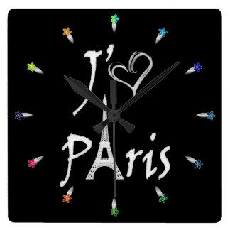 j'aime Paris Clocks