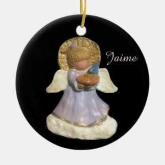 JAIME-PONYTAIL CHORUS GUARDIAN ANGEL  ORNAMENT