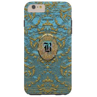 Jaimette Elegant Monogram Tough iPhone 6 Plus Case