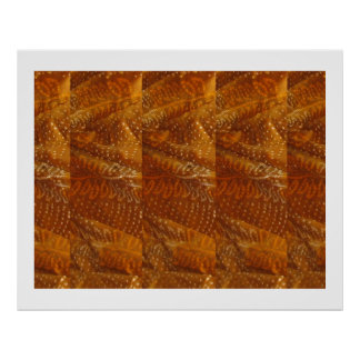 Jaipur Golden Fabric Patchwork  : ENJOY  share JOY Print