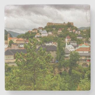 Jajce, Bosnia and Herzegovina Stone Coaster