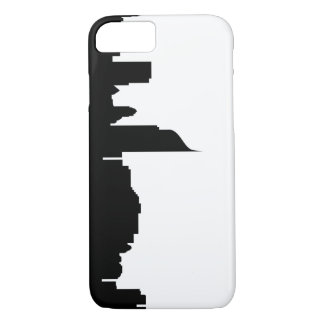 jakarta city skyline silhouette indonesia iPhone 8/7 case