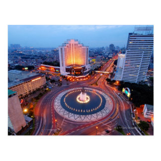 Jakarta Cityscape Postcard