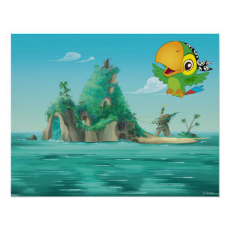 Jake and the Neverland Pirates | Skully Flying Poster