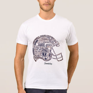 Jake Football Helmet Shirt Players SHS 72MARKETING