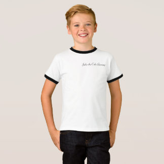 Jake the Cake Gaming cursive writing T-Shirt
