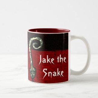 Jake the Snake Two-Tone Coffee Mug