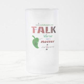 jala - glass frosted glass mug
