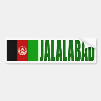 Jalalabad, Afghanistan Flag Bumper Sticker
