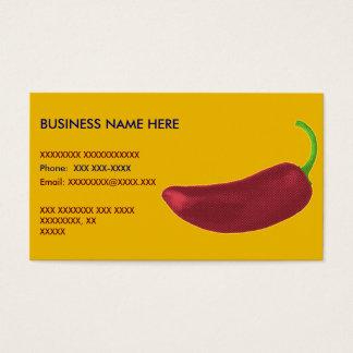 Jalapeño Pepper Business Card