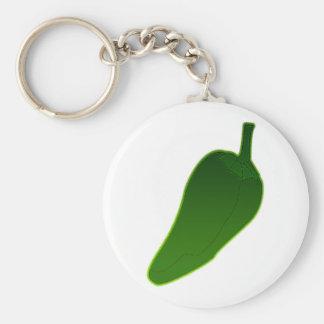 Jalapeno Pepper Key Ring