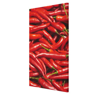 Jalapenos Stretched Canvas Prints