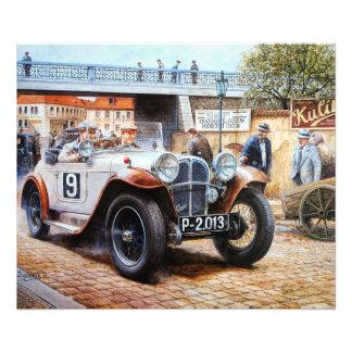 Jalopy racingcar painting photo