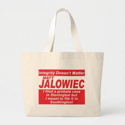 Jalowiec 2010 Campaign Sign Audit Bag