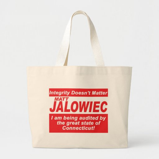 Jalowiec 2010 Campaign Sign southington Bags