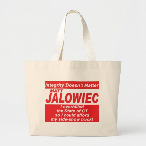 Jalowiec 2010 Campaign Sign SS Truck Bag