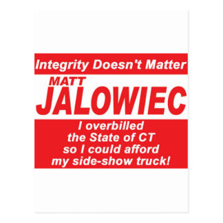 Jalowiec 2010 Campaign Sign SS Truck Postcard