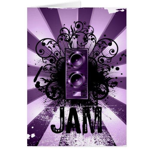 JAM GREETING CARDS