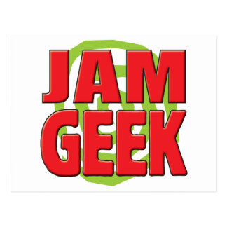 Jam Geek Post Card