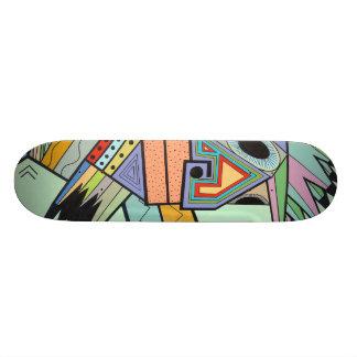"""Jam in Brooklyn"" by Ruchell Alexander (detail) Skate Deck"