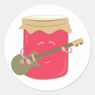 Jam Music Classic Round Sticker