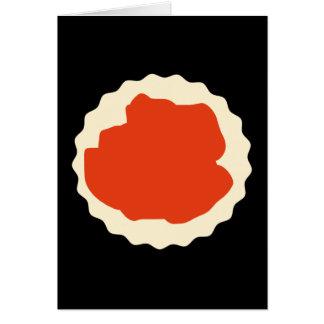 Jam Scone Graphic. Card
