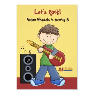 Jam Session - Birthday Party  Invitation