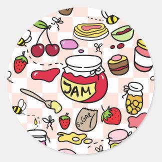 Jam sticker