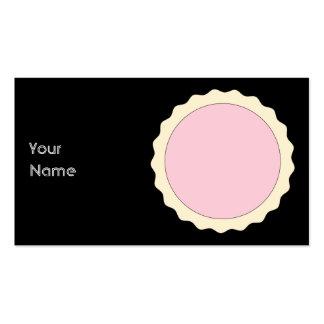 Jam Tart. Pale Pink. Business Card Templates