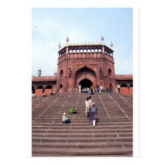 Jama Masjid in Delhi Postcard