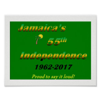 Jamaica 2017 Independence Poster