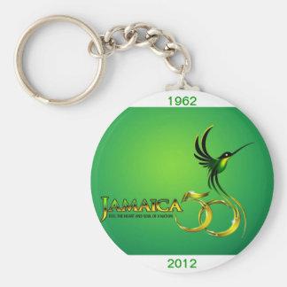 Jamaica 50th Key Ring