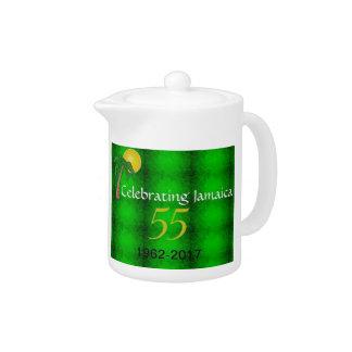 Jamaica 55th Independence Celebration Teapot