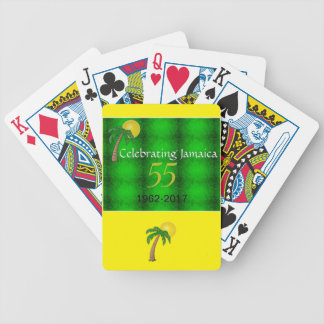 Jamaica 55th Independence Playing Cards
