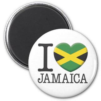 Jamaica 6 Cm Round Magnet