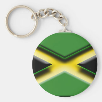 Jamaica (artist flag) basic round button key ring