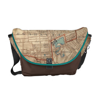 Jamaica Bay and Brooklyn Messenger Bags