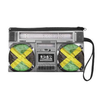 Jamaica boombox wristlet