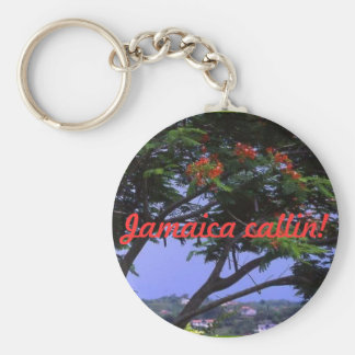 Jamaica callin! key ring