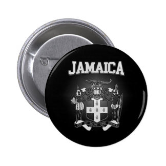 Jamaica Coat of Arms 6 Cm Round Badge